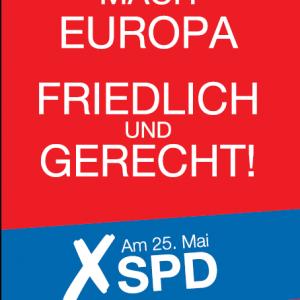 Schlussplakat Europawahl 2014
