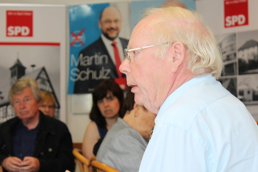 Willi Görlach zu Gast beim Europa Frühstück der SPD Bad Vilbel