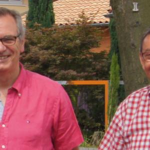 Bernd Hielscher und Klaus Arabin