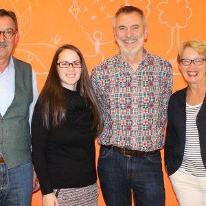 Dr. Bernd Hielscher, Ricarda Grimm, Klaus Arabin und Annette Hielscher sollen die Liste anführen.