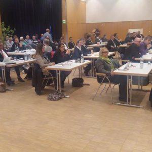 Blick in die Sitzung, im Vordergrund die SPD Fraktion