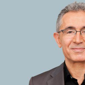 Portrait Turgut Yüksel, SPD-Abgeordneter im Hessischen Landtag und Mitglied der Deutschen Islamkonferenz